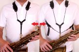 """Feather Strap """"Dual Light"""" for Saxophones/other woodwind instrument"""
