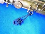 Scratch free saxophone hook ring extender